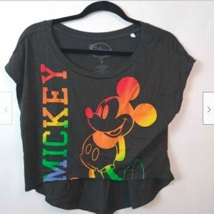 Mickey Mouse High/Low T Shirt